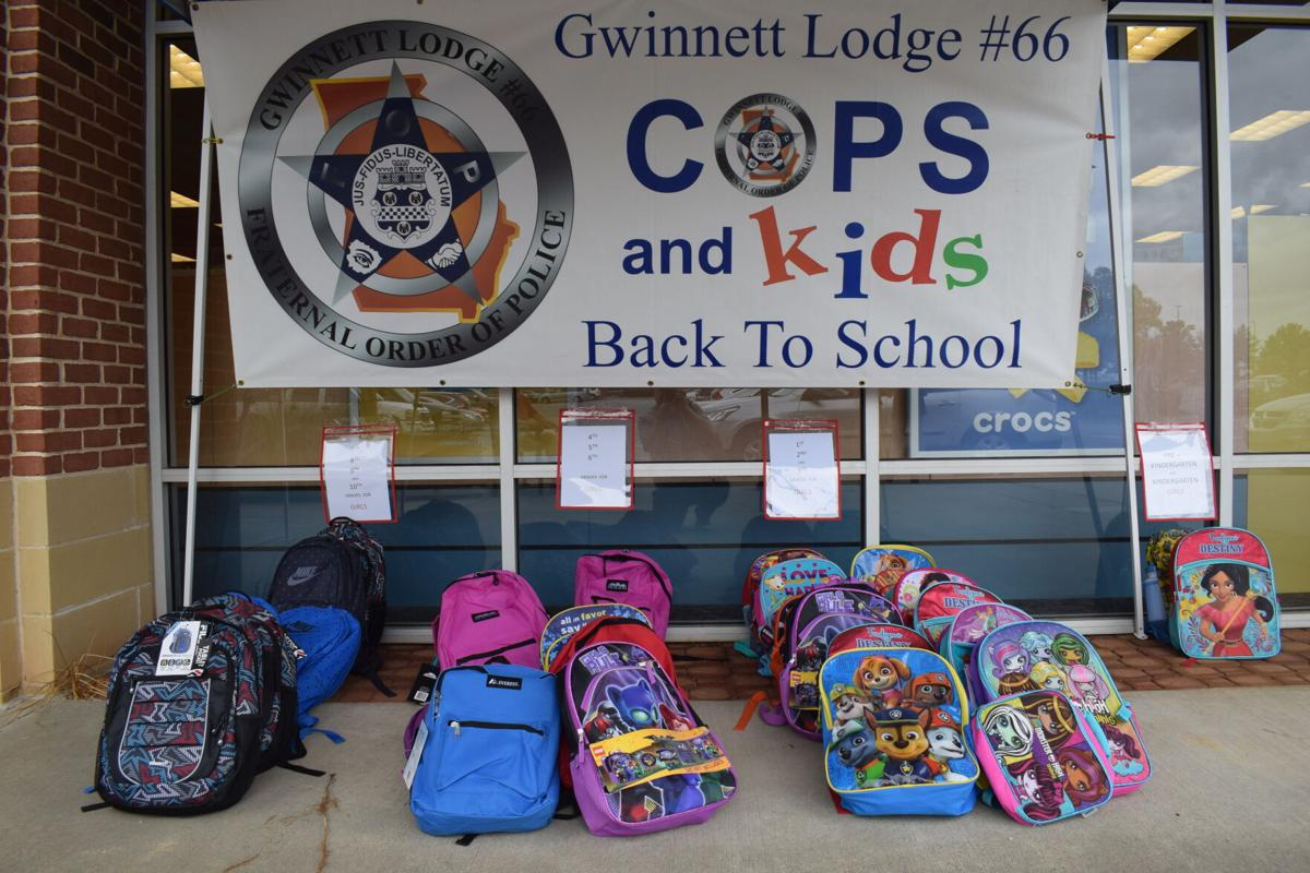 2020 Cops and Kids Back To School