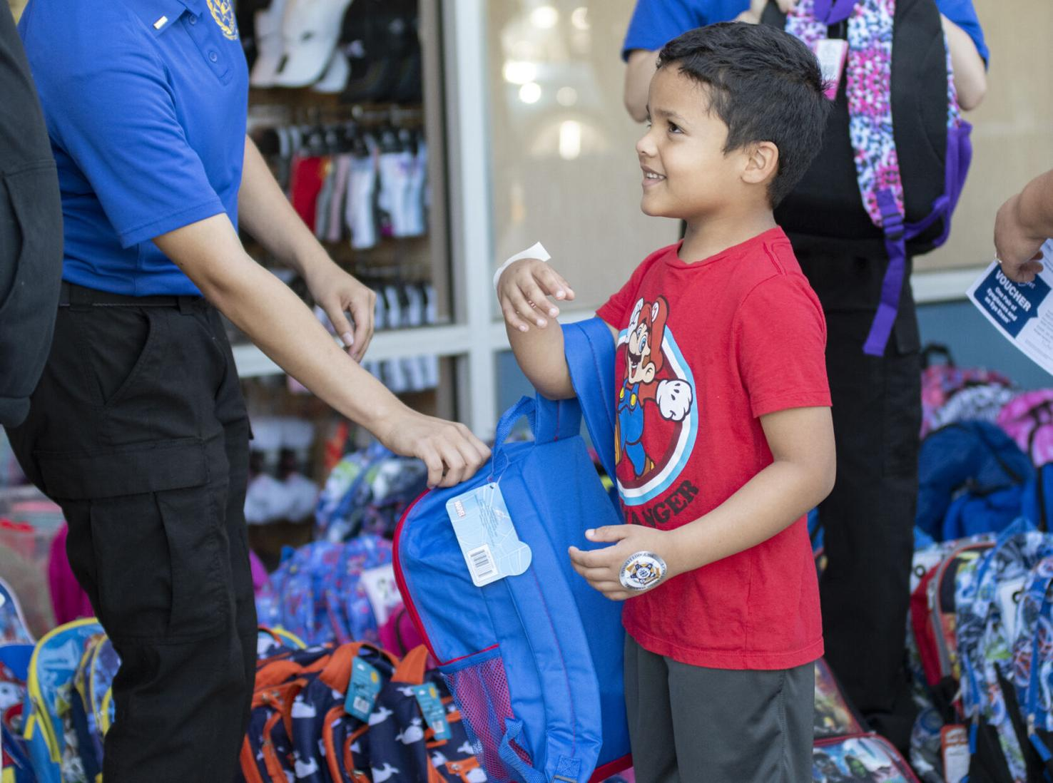 2021Cops and Kids Back To School